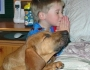 boy_dog_pray