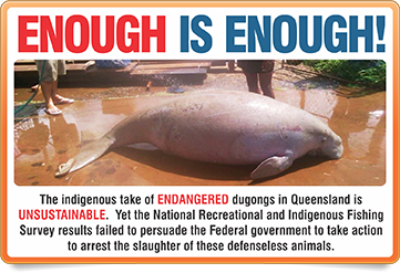 endangered dugongs