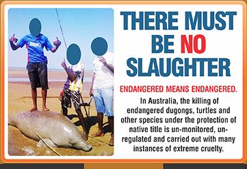 stop dugong slaugher