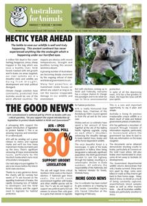 koala crisis newsletter jan 2019
