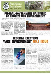 afa koala crisis newsletter
